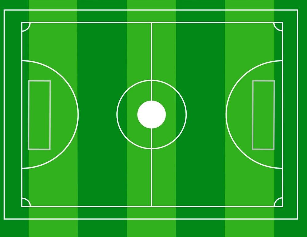Разметка футбольного поля - основные линии